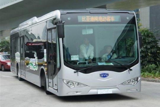 Bus listrik China diterima Eropa