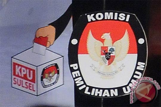 KPU Sulsel tetapkan empat pasangan calon