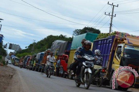 Polisi tangkap pelaku pungli di jalur alternatif Lampung