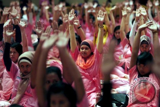 Mukesh India meriahkan Festival Yoga Bali