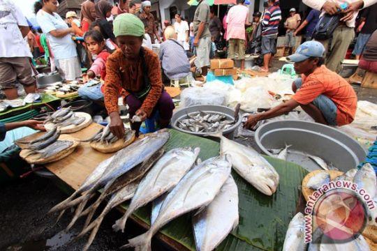 Gedung pasar ikan higienis Tantui tidak terawat