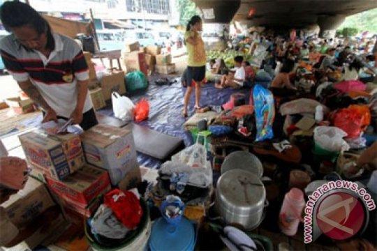 Pengungsi Kampung Melayu khawatirkan banjir susulan