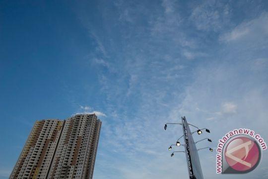 Jakarta cerah berawan sepanjang hari