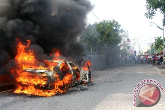 SPBU di Binjai terbakar satu mobil hangus