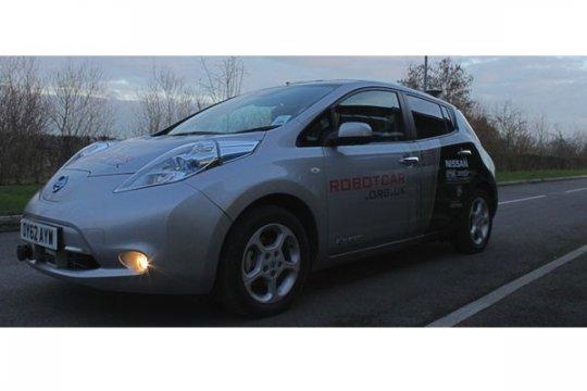 RobotCar UK saingi sistem kemudi otomatis Google