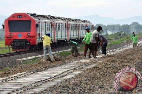 Proyek jalur rel ganda Jateng selatan selesai 2019