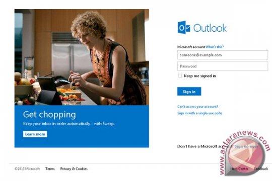 Saingi Gmail dan Ymail, Microsoft perkuat Outlook