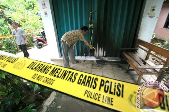 Teror bom molotov kembali terjadi di rumah kos polisi