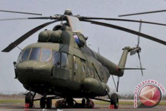 Helikopter TNI bantu distribusi naskah UN SD