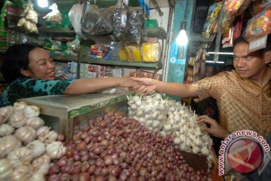 Mendag sidak harga bawang putih di Surabaya