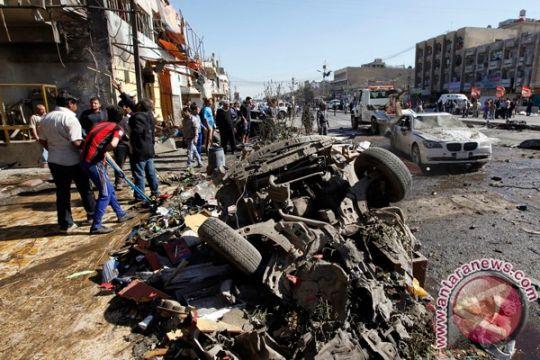 24 tewas akibat ledakan bom truk di dekat Baghdad