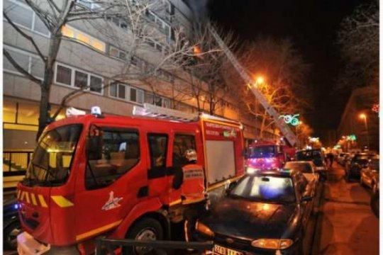 Dua orang tewas dalam kebakaran di Paris