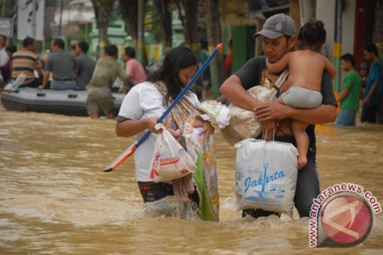 Banjir, RRI Sampang tiga hari tak mengudara