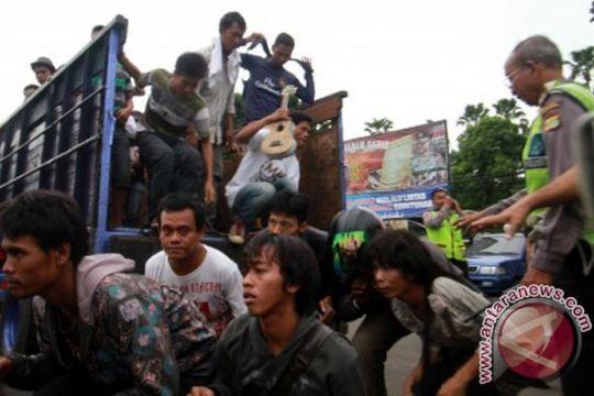 Polresta Bandarlampung ciduk ratusan preman