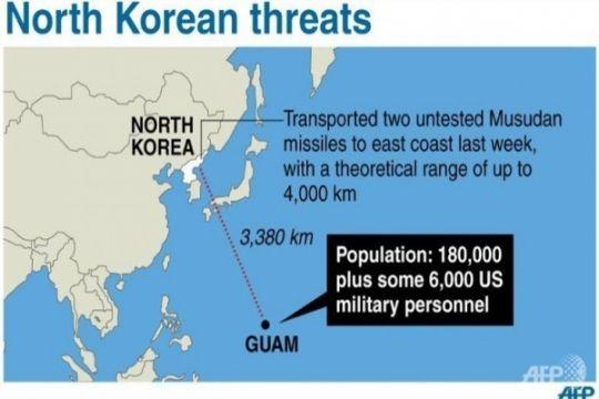 Korut mengancam, Guam tingkatkan kewaspadaan