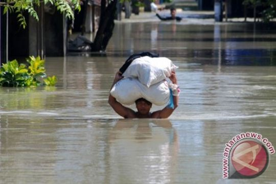 Debit air sungai Wulan mulai menurun