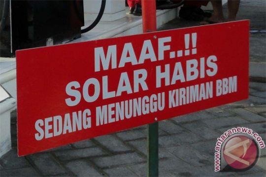Kelangkaan solar bersubsidi di Riau semakin meluas