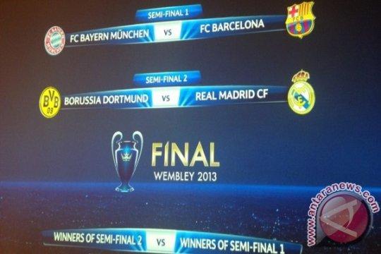 Jadwal semifinal Liga Champions