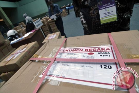 37.335 siswa SM/SMK Surabaya siap ikut UN