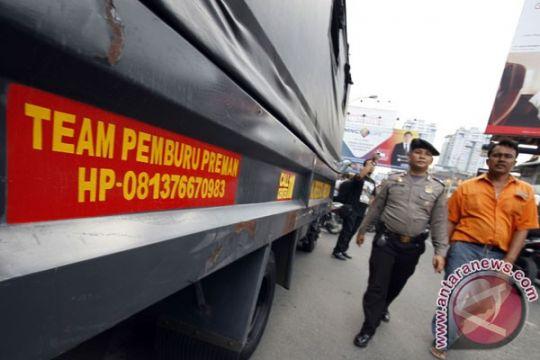 Polisi amankan 89 preman di Pelabuhan Tanjung Priok