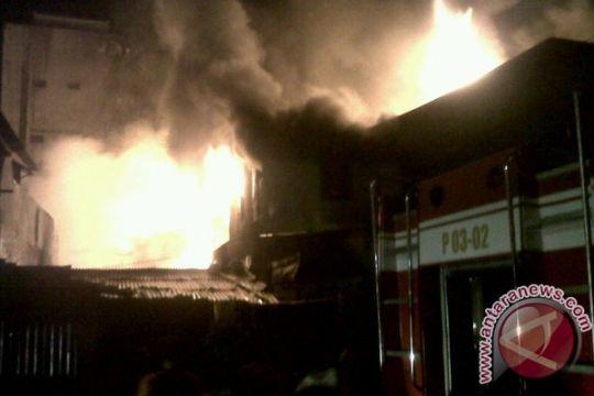 Kebakaran hanguskan pabrik roti di Kaltim