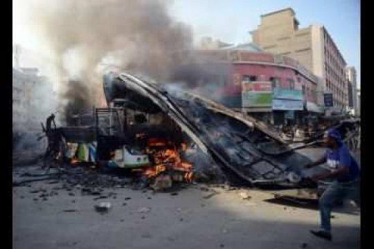 Enam orang cedera akibat ledakan dalam kegiatan keagamaan di Pakistan