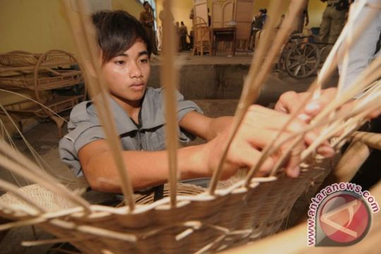 Ekspor kerajinan rotan Bali naik signifikan