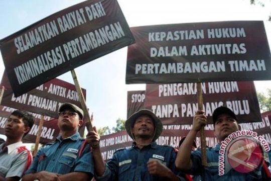 Pengamat: pemerintah harus bina penambang timah ilegal