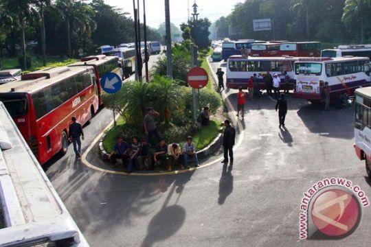Penutupan tol Jagorawi, Terminal Baranangsiang dibuka sementara