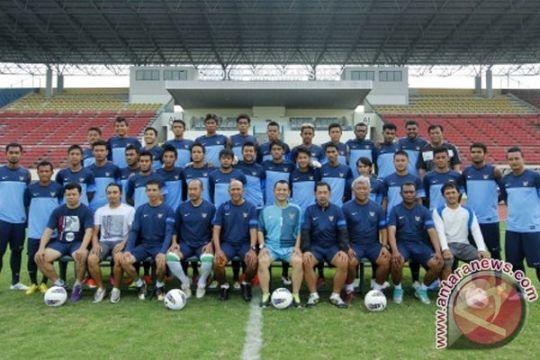 Timnas U-23 matangkan permainan di Singapura