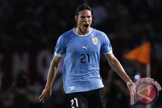 Cavani buat Uruguay imbangi Brazil 1-1