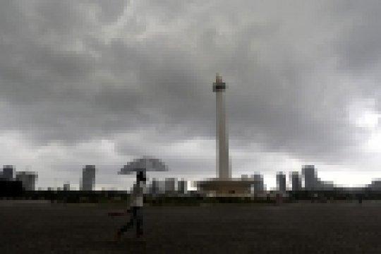 Jakarta Selatan dan Jakarta Timur diperkirakan hujan