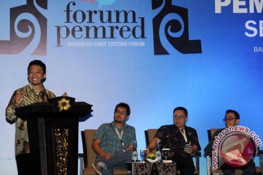 Pemred se-Indonesia ikrarkan komitmen Nusa Dua