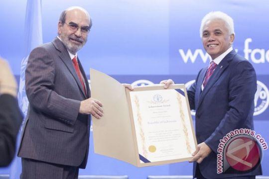 Indonesia terima penghargaan dari FAO