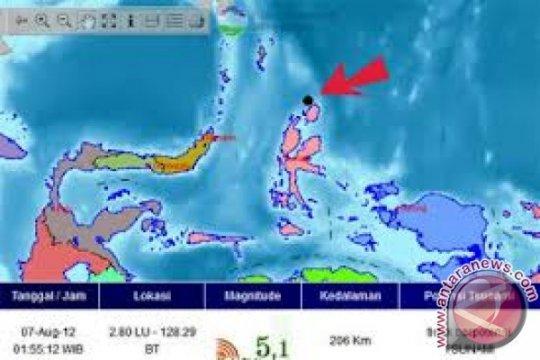 Gempa di Morotai tak berpotensi tsunami