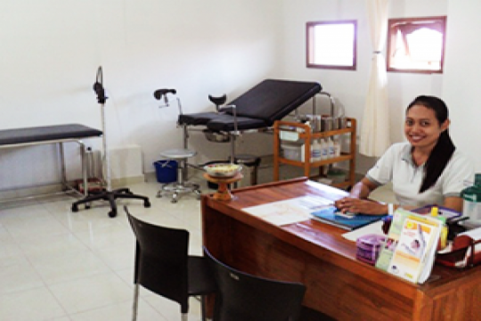 Rumah sehat pemeriksaan kanker serviks di Sanur