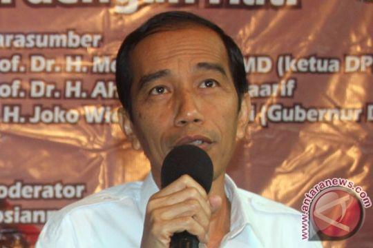 Jokowi datang ke Rakernas PDIP sebagai Gubernur