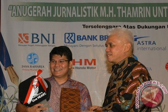 Dua jurnalis ANTARA raih penghargaan MH Thamrin