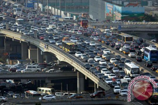 Beijing batasi kendaraan bermotor