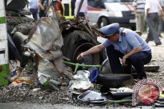 15 orang tewas dalam tabrakan truk vs bus di Moskow