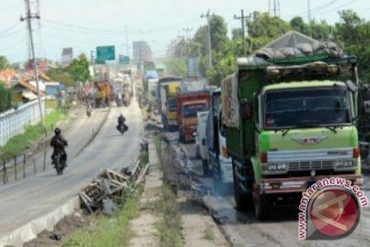 Antisipasi kemacetan rekonstruksi ruas Pejagan--Brebes dikebut