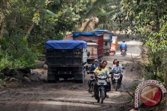 Jalur evakuasi Merapi rusak parah