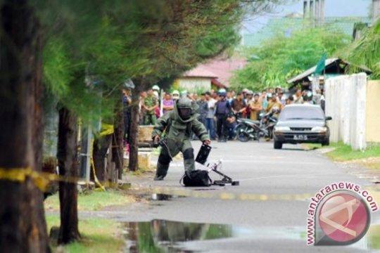 Polisi amankan tas diduga bom di Banda Aceh