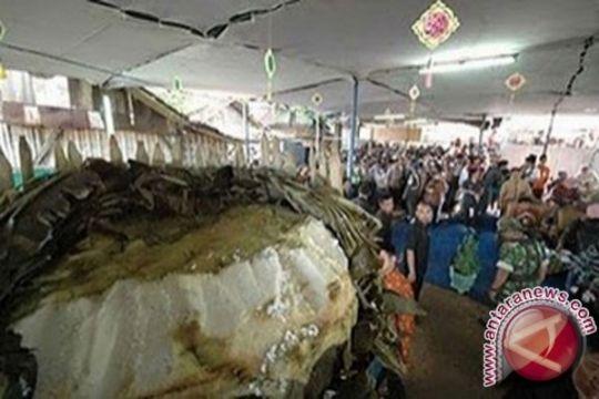 Warga Pekalongan siapkan lopis raksasa untuk Syawalan