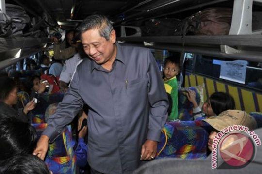 Masyarakat antusias silaturahmi dengan SBY di Istana Negara