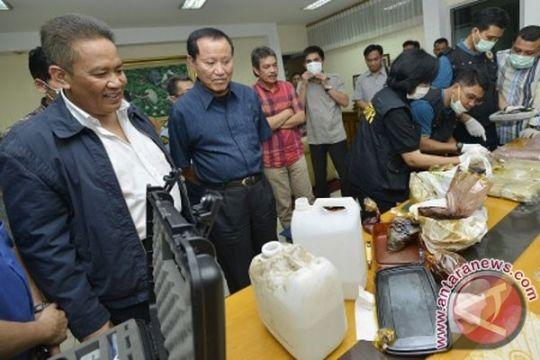 Polisi tetapkan 10 tersangka kasus shabu LP Cipinang
