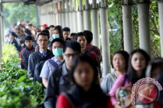 BPS: jumlah angkatan kerja berkurang tiga juta orang