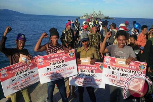 Antusiasme masyarakat Pulau Sebatik sambut kemerdekaan Indonesia