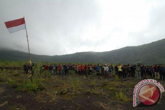 Walhi apresiasi Sispala Kurintji di jalur pendakian Gunung Tujuh
