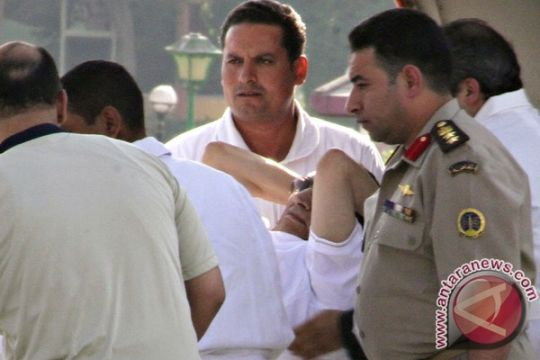 Hosni Mubarak jadi tahanan rumah